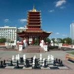 Калмыкия. По духу – Тибет. Только увлечённый шахматами