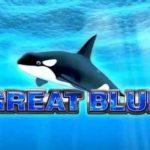 Оформление игрового слота Great Blue из клуба Azino